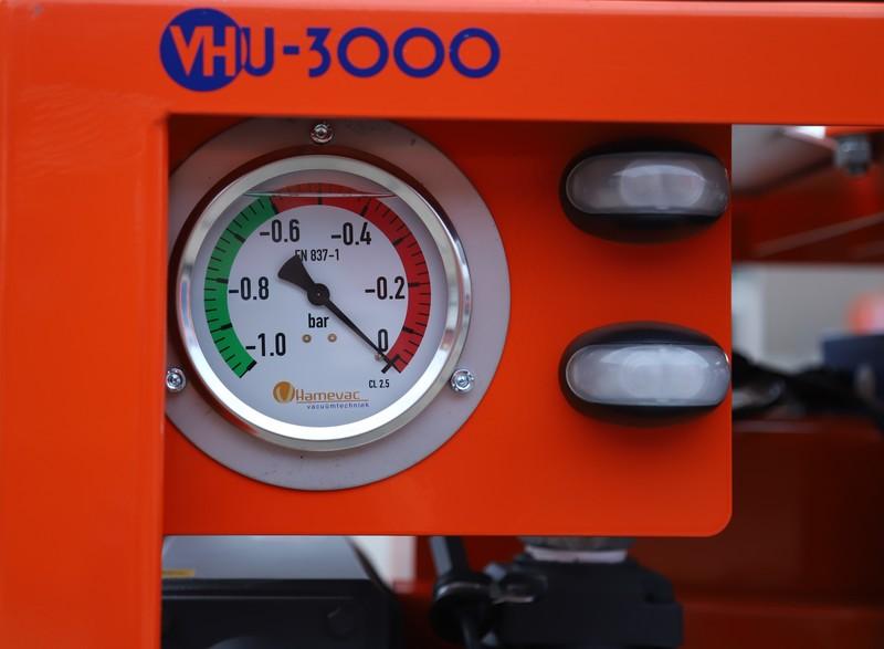 Vacuumunit Benzine electrisch gestart huren