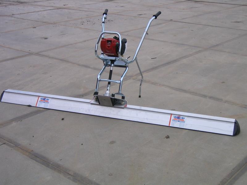 aluminium profiel 2,50 mtr huren