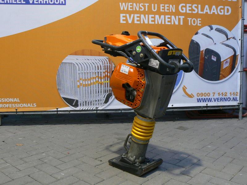 Trilstamper 15 kN / benzine huren
