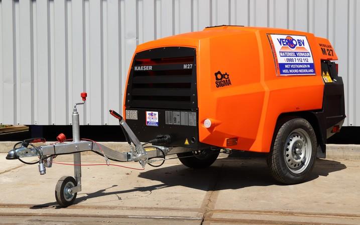 Compressor 2,6 m³ - diesel/SGG huren