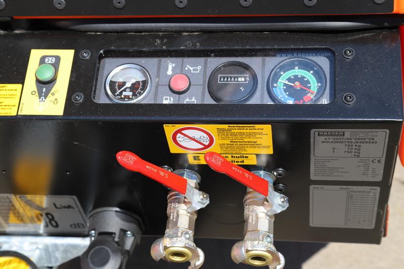 Compressor 4,2 m³ - diesel/SGG huren