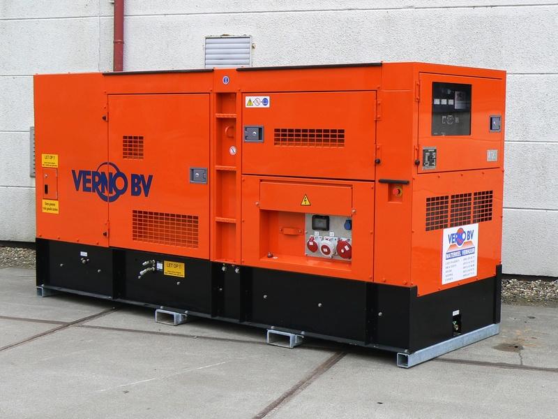 150 kVA Aggregaat 400V/dsl-SGG huren