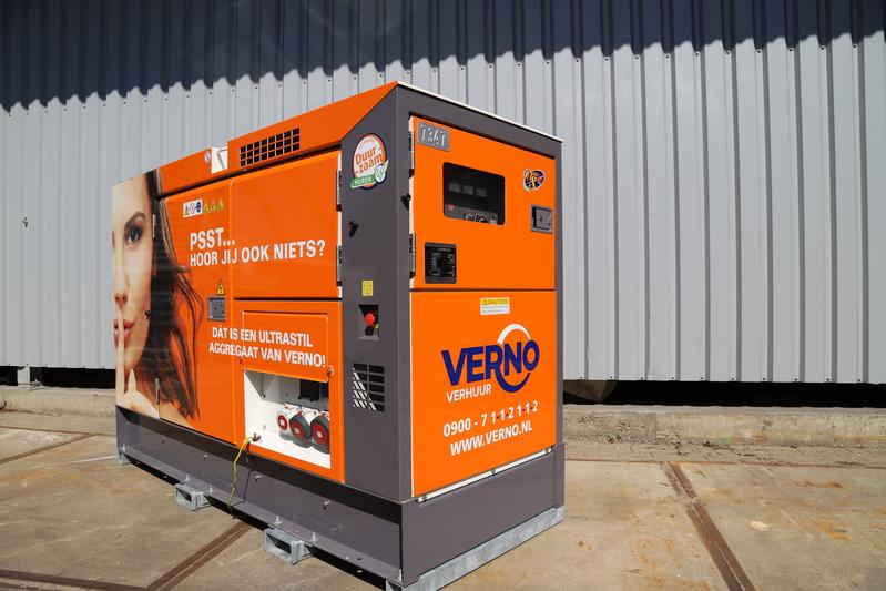 60 kVA Aggregaat Ultra Silent huren