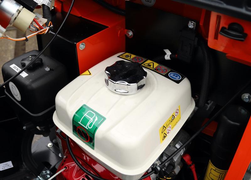 Minidumper rups 800 kg Benzine/Diesel huren