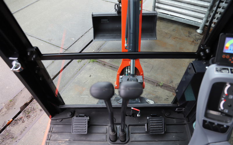 Mini-graafmachine 1900 kg - 100% elektrisch huren