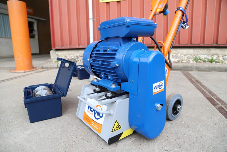 Betonfreesmachine 230V - lamellen huren